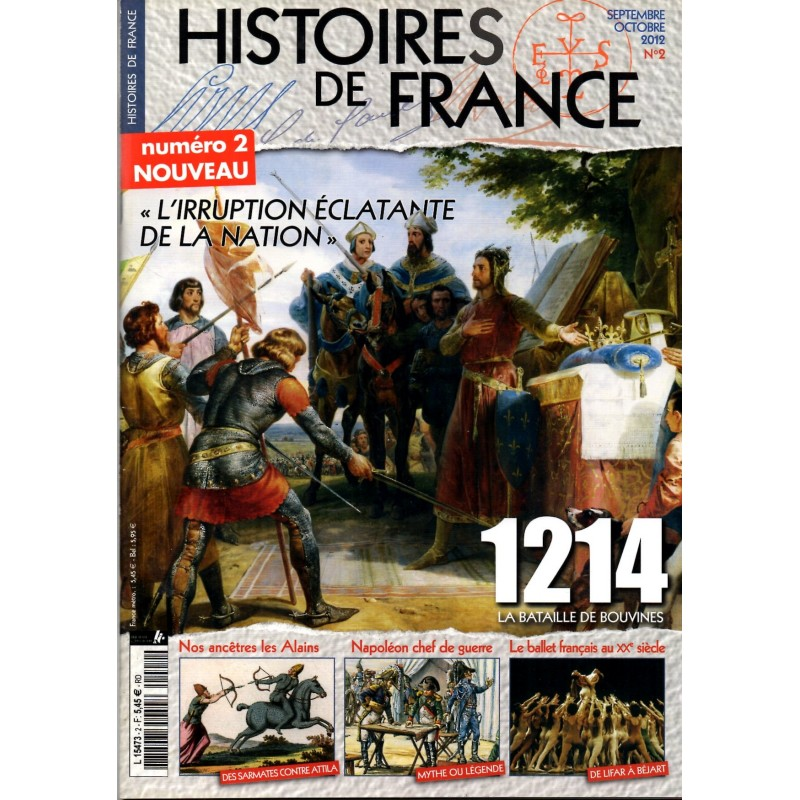 Histoires de France n° 2 - 1214, La Bataille de Bouvines