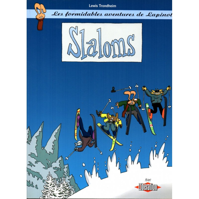 Slaloms - Bande Dessinée de Lewis Trondheim