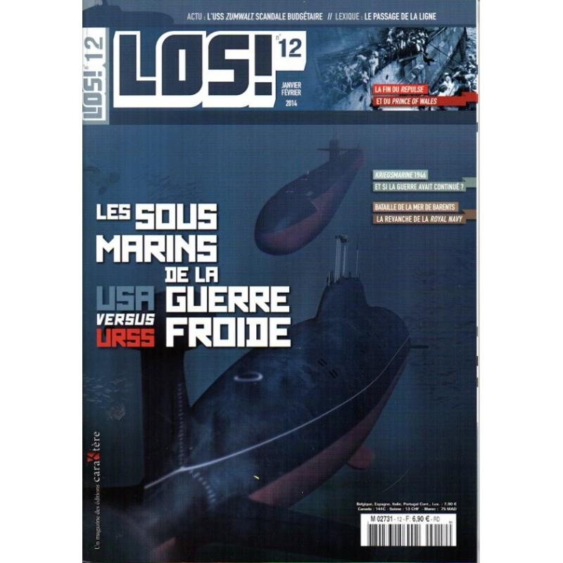 Los! n° 12 - Les Sous-Marins de la Guerre froide, USA versus URSS
