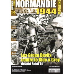 Normandie 1944 n° 14 - Les Green Devils contre le Blue & Grey devant Saint-Lô