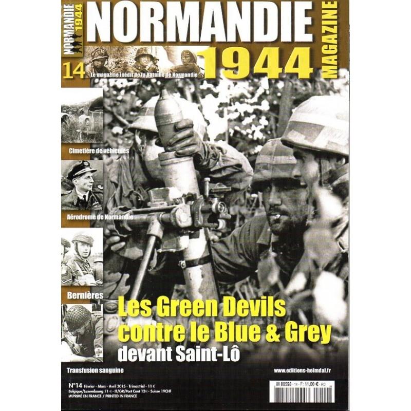 Normandie 1944 n° 14 - Les Green Devils contre le Blue & Grey devant Saint-Lô