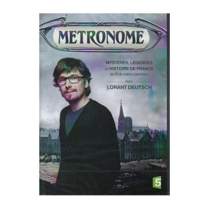 Métronome, Mystères, Légendes et Histoire de France (Lorant Deutsch) - Double DVD Zone 2
