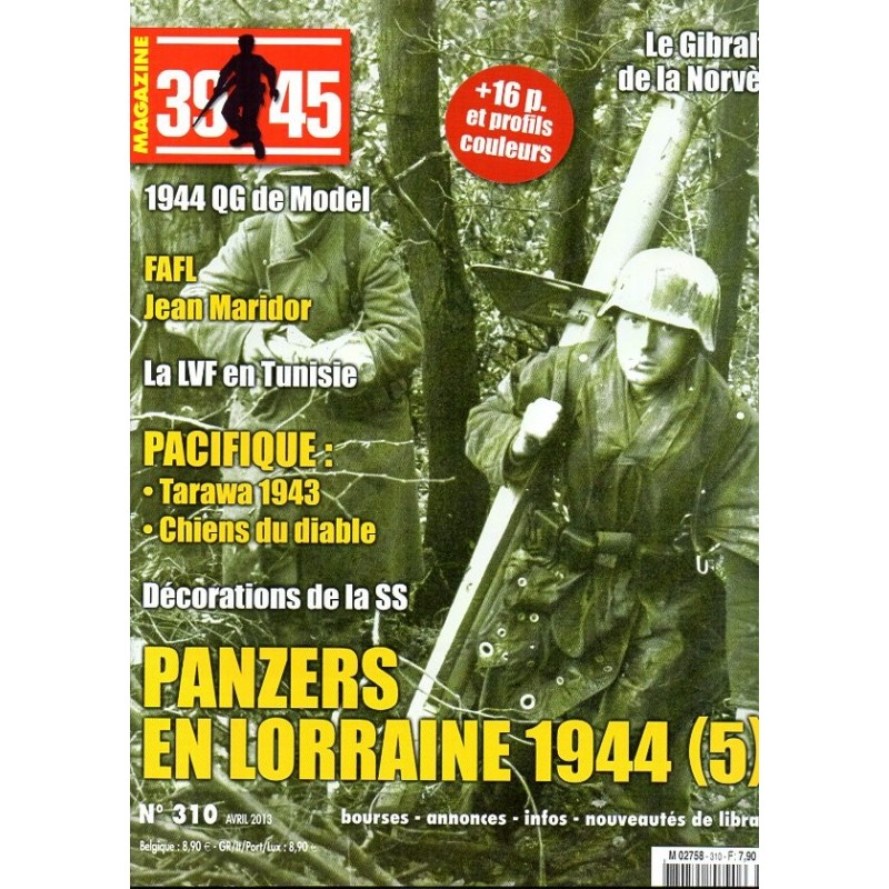 Magazine 39-45  n° 310 - Panzers en Lorraine 1944