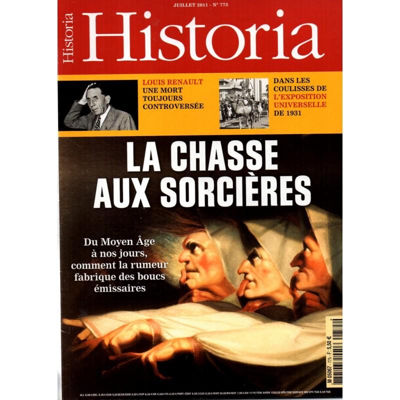 Historia n° 775 - La Chasse aux Sorcières, du Moyen âge à nos jours