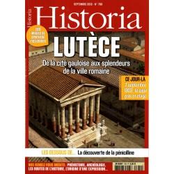 Historia n° 789 - Lutèce - De la cité gauloise aux splendeurs de la ville romaine