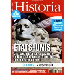 Historia n° 791 - Etats-Unis, une république laïque, esclavagiste du Nord au Sud