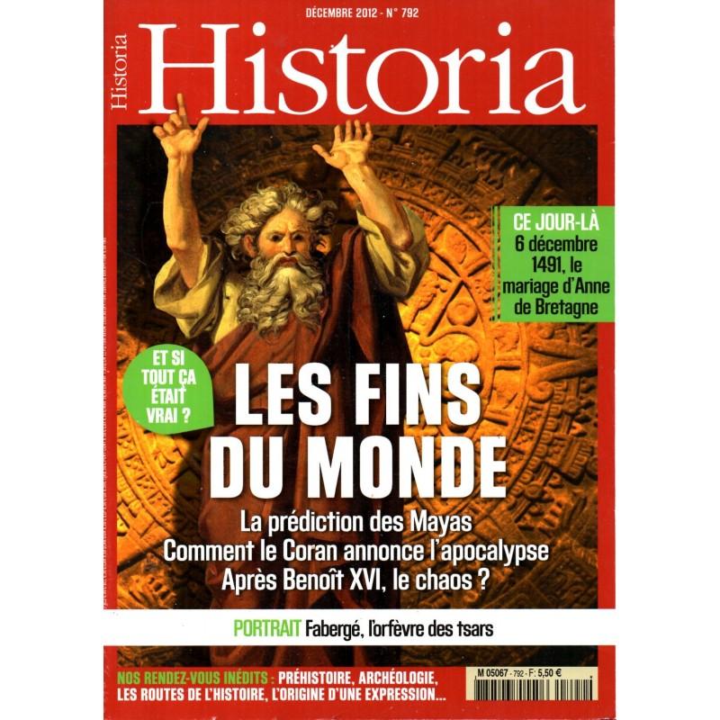 Historia n° 792 - Les Fins du Monde - La prédiction des Mayas, Comment le Coran annonce l'apocalypse