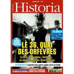 Historia n° 793 - 36, quai des orfèvres - La Crim, la Mondaine, l'Antigang ...