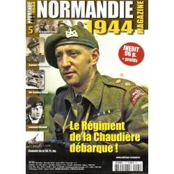 Normandie 1944 n° 5 - Le Régiment de la Chaudière débarque !