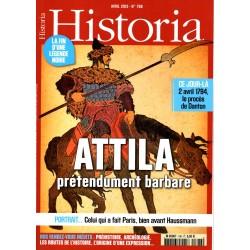Historia n° 796 - Attila, prétendument barbare