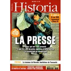 Historia n° 797 - La Presse, une aventure millénaire à la une