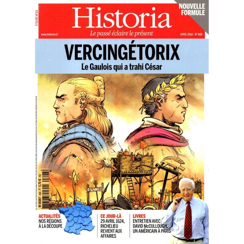 Historia n° 808 - Vercingétorix, le Gaulois qui a trahi César