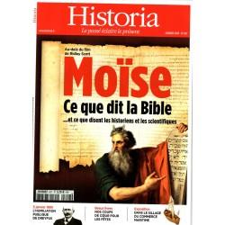 Historia n° 817 - Moïse, ce que dit la Bible ... et ce que disent les historiens et les scientifiques