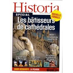 Historia Thématique n° 124 - Les bâtisseurs de cathédrales