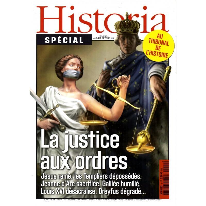 Historia Spécial n° 3 - La justice aux ordres