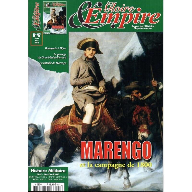 Gloire & Empire n° 47 - MARENGO et la campagne de 1800