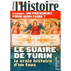 L'Histoire n° 372 - Le Suaire de Turin, la vraie histoire d'un faux