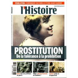 L'Histoire n° 383 - Prostitution - De la tolérance à la prohibition