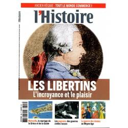 L'Histoire n° 398 - Les Libertins - L'incroyance et le plaisir