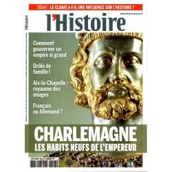 L'Histoire n° 406 - Charlemagne, les habits neufs de l'Empereur