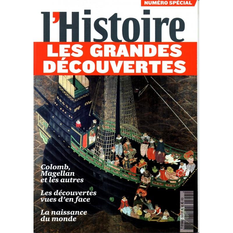 L'Histoire n° 355 (numéro spécial) - Les Grandes Découvertes