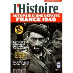L'Histoire n° 352S (numéro spécial) - France 1940, autopsie d'une défaite
