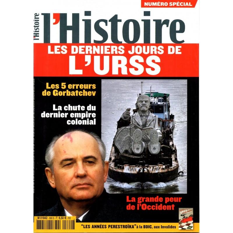 L'Histoire n° 369S (numéro spécial) - Les derniers jours de l'URSS
