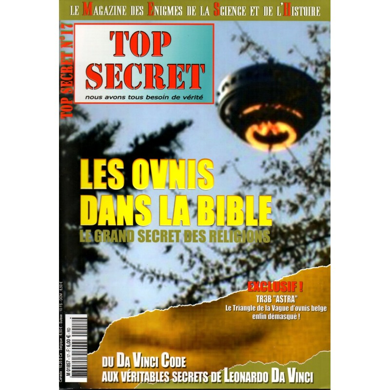 Top Secret n° 17 - Les Ovnis dans la Bible, le grand secret des religions