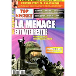 Top Secret n° 12 - La Menace Extraterrestre, Mutilations de bétail, la face obscure de l'ufologie