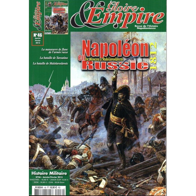 Gloire & Empire n° 46 - Napoléon en Russie 1812, de Moscou à Maloïaroslavets