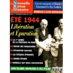 NRH n° 74 - Eté 1944, Libération et Epuration