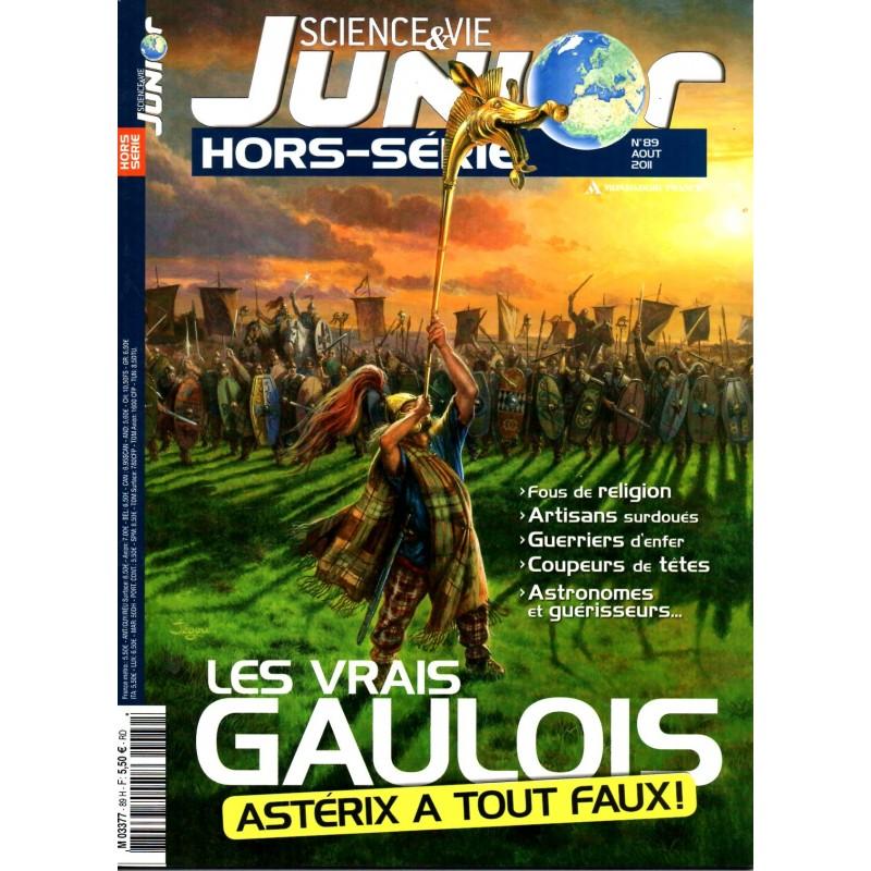 Science & Vie Junior (hors série) n° 89H - Les vrais Gaulois, Astérix a tout faux !