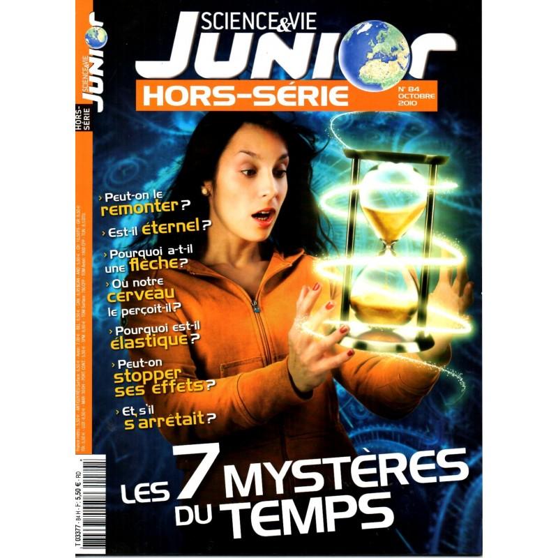 Science & Vie Junior (hors série) n° 84H - Les 7 mystères du temps