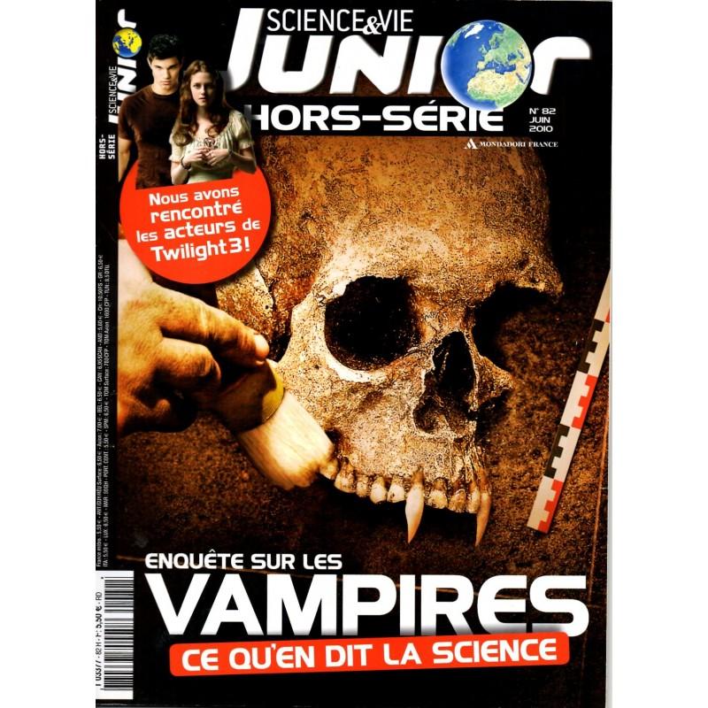 Science & Vie Junior (hors série) n° 82H - Enquête sur les Vampires, ce qu'en dit la science