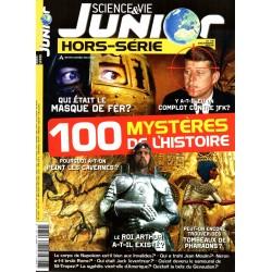 Science & Vie Junior (hors série) n° 79H - 100 Mystères de l'histoire