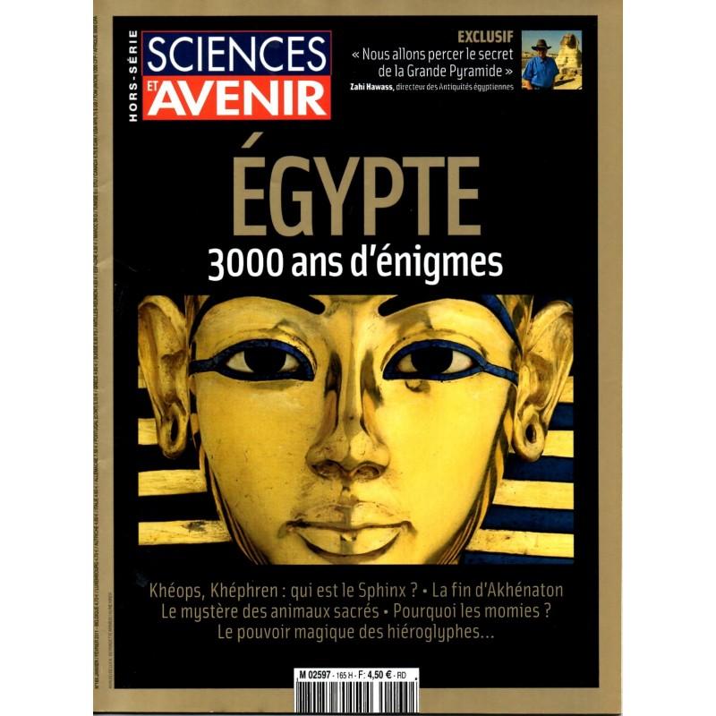 Sciences et Avenir (hors série) n° 165 H - Egypte 3000 ans d'énigmes