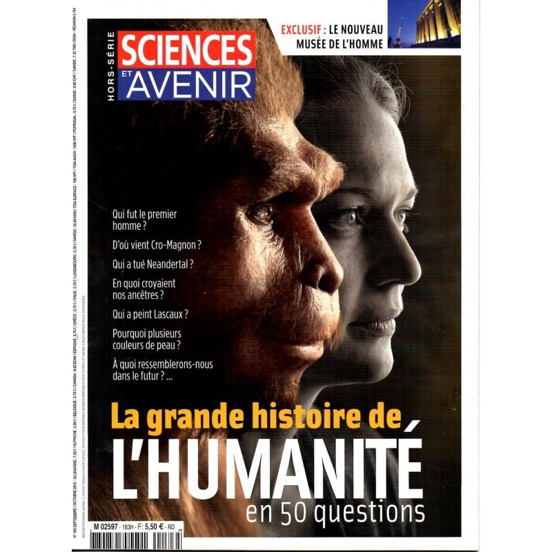 Sciences et Avenir (hors série) n° 183 H - La grande histoire de l'Humanité