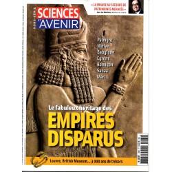 Sciences et Avenir (hors série) n° 185 H - Le fabuleux héritage des Empires disparus
