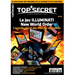 Top Secret n° 83 - Le jeu Illuminati, New World Order