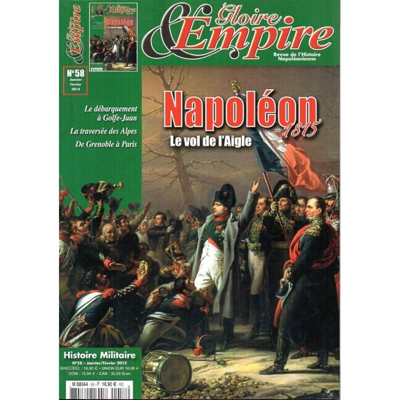 1815 N° Vol Empire Napoléon De Le Gloire 58 L'aigle amp; qRwnUX