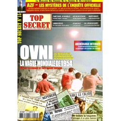 Top Secret n° 15 - OVNI, la vague mondiale de 1954