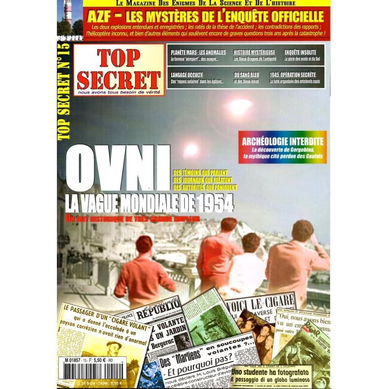Top Secret n° 15 - OVNI, la vague mondiale de 1954