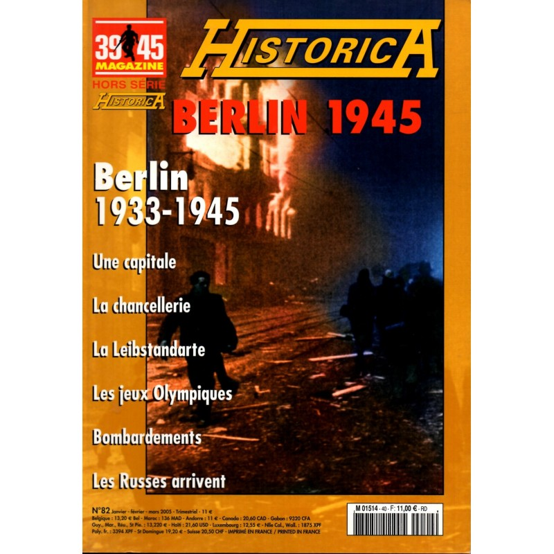 Magazine 39-45 n° 40H - Berlin 1945