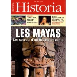 Historia n° 749 - Les Mayas - Les secrets d'un peuple de génie