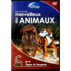 Monde merveilleux des Animaux n° 4 - Tigres et Serpents - DVD Zone 2