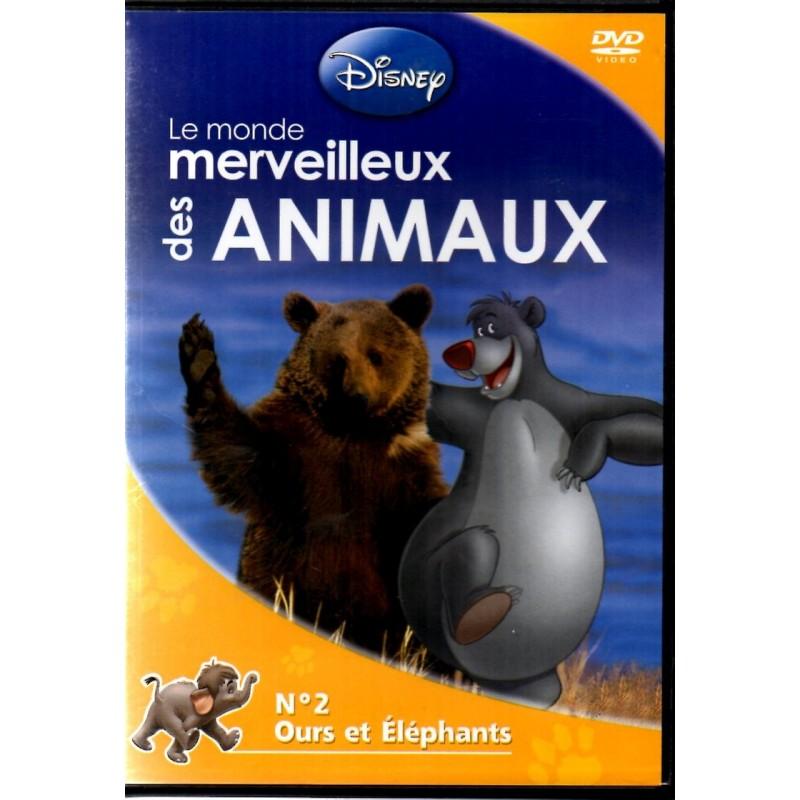 Monde merveilleux des Animaux n° 2 - Ours et Elephants - DVD Zone 2