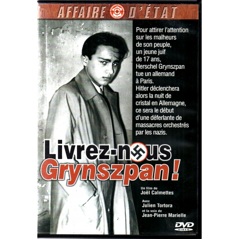 Livrez-nous Grynspan ! (un film de Joël Calmettes) - DVD Zone 2
