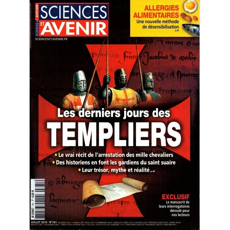 Sciences et Avenir n° 761 - Les derniers jours des Templiers