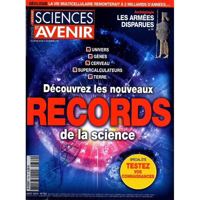 Sciences et Avenir n° 762 - Découvrez les nouveaux records de la science
