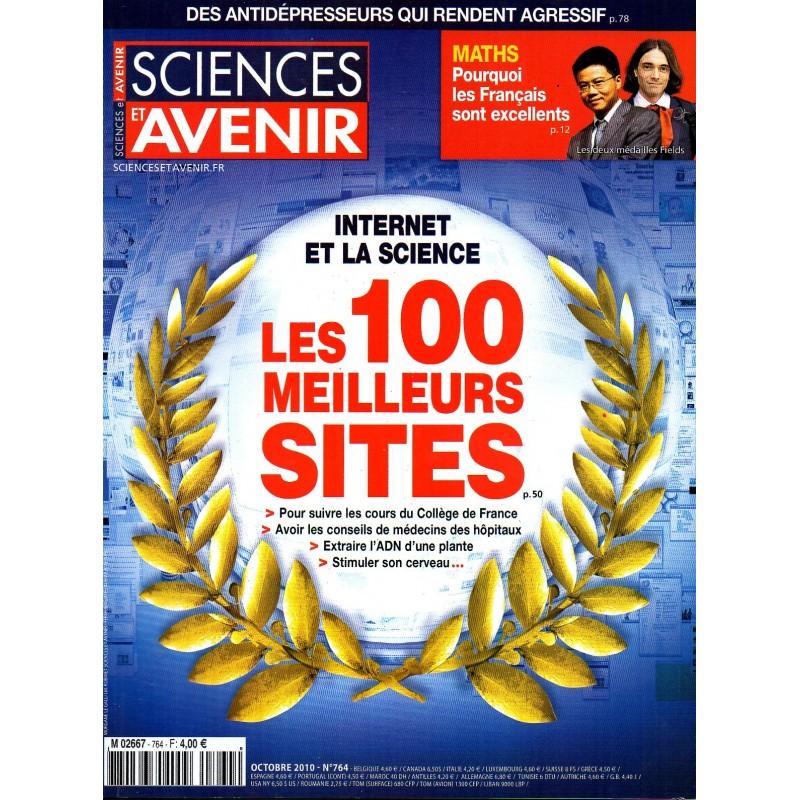 Sciences et Avenir n° 764 - Internet et la science : Les 100 meilleurs sites